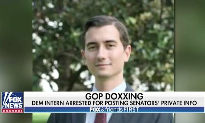 Democrat Hill staffer held without bond in Senate 'doxxing' case
