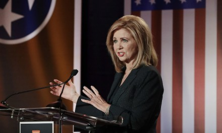 Marsha Blackburn calls out 'angry mob' after restaurant that hosted campaign event threatened