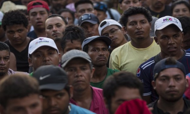 Central American invasion advances more quickly toward US, treks 62 miles in one day