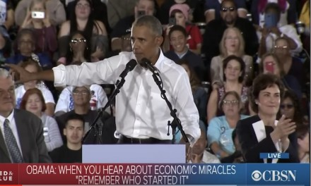Obama claims credit for Donald Trump's 'economic miracles': 'Remember who started it'