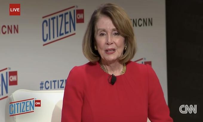 She's 'winning': The press protects Pelosi