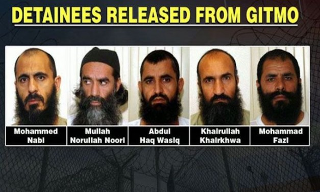 5 terrorists freed by Obama in exchange for Bergdahl now hold office in the Taliban