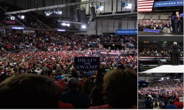 Trump celebrates Kavanaugh victory at Kansas rally