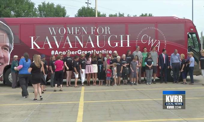 Pro-Kavanaugh women fed up with 'gender traitors' label: 'They'll see us at the polls'