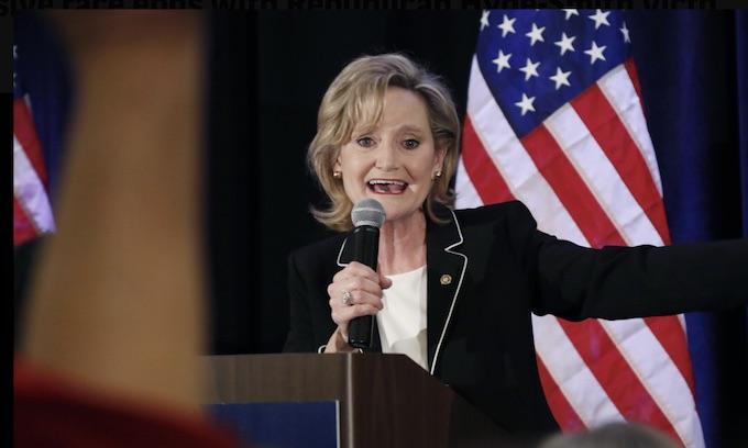 Cindy Hyde-Smith gives GOP Senate bigger margin