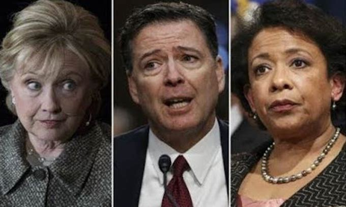 Just a few questions, Mr. Comey and Ms. Lynch