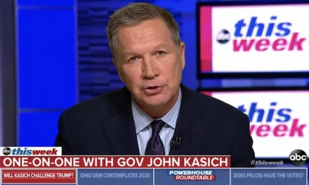 Failed candidate John Kasich 'very seriously' considering challenging President Trump in 2020 primary