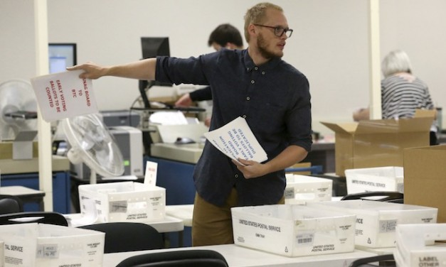 In Arizona Sinema leads; counties can 'cure' ballots through Nov. 14