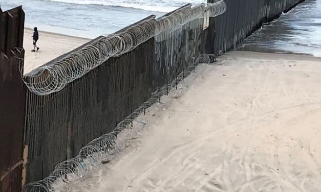 DHS deploys razor wire to kick illegals off border fence