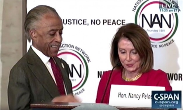 Nancy Pelosi deems Al Sharpton nation's hero: 'Thank you for saving America'
