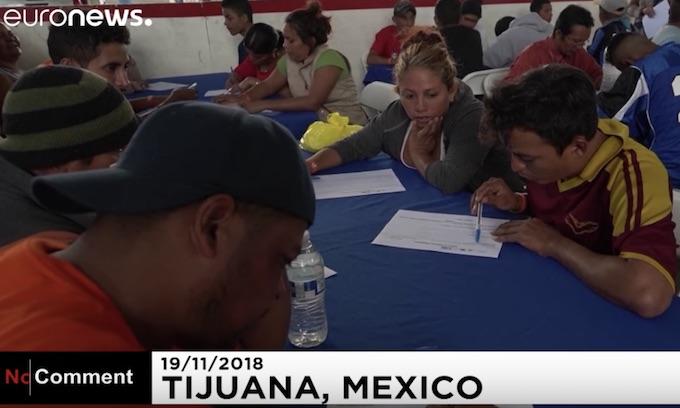 Central American caravan members begin seeking work in Mexico