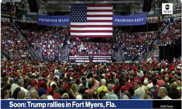 Trump blasts 'birth tourism,' migrant caravan at Florida rally