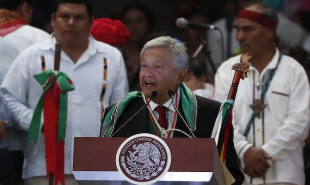 Mexico's president celebrates launching of economic zone for northern border