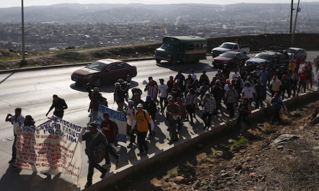 Shakedown: Central Americans demand reparations to go home
