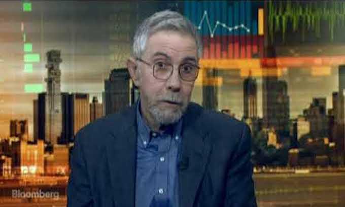 Leftist economist Krugman declares U.S. part of new 'axis of evil' with Russia, Saudi Arabia