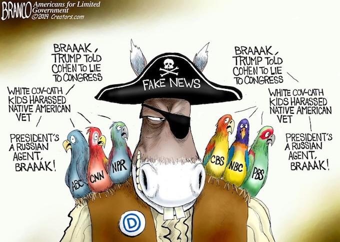 Fake News Parrots