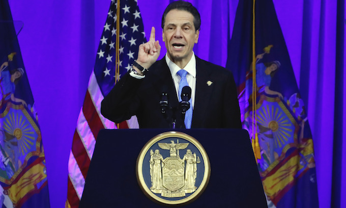 NY Gov. Cuomo blasts Trump for stoking anti-Semitism and division