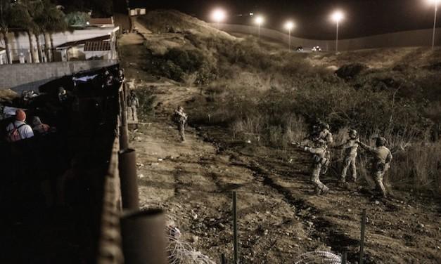 Border Patrol Repels Mob Attempting to Storm U.S. Border in San Diego