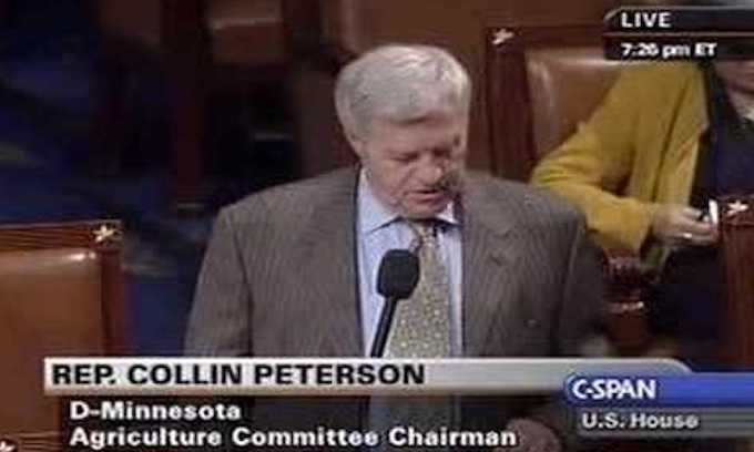 Rep. Collin Peterson, Minnesota Democrat: 'Give Trump the money' for the wall