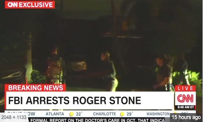FBI's Roger Stone raid sends chilling message