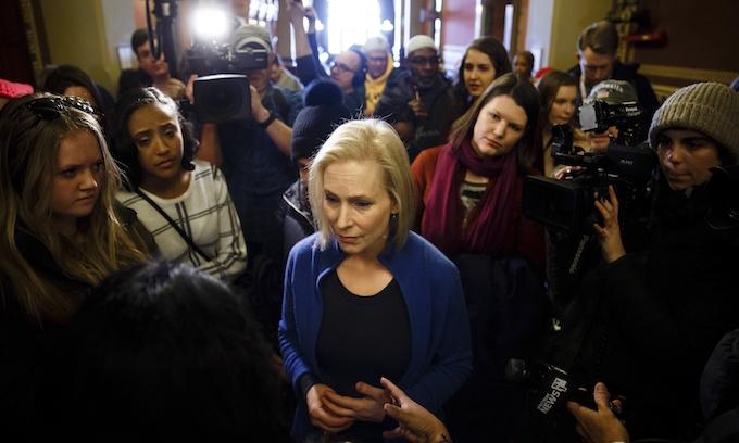 Kirsten Gillibrand: White women must bear burden of fighting racism alongside people of color