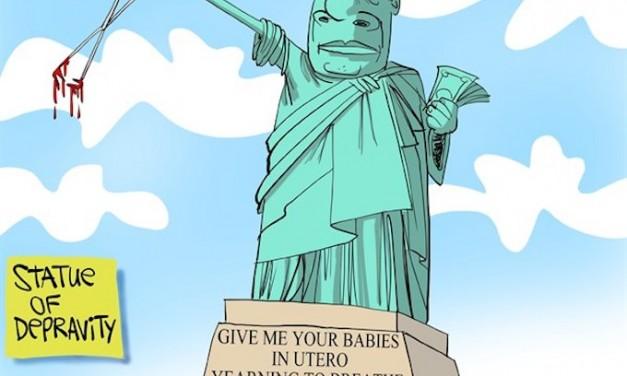 New York's pro-death monster!