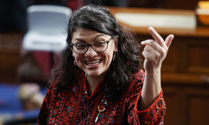Tlaib blasts coverage of Gaza attacks, calls to 'Free Palestine'