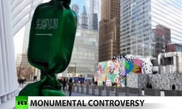 9/11 victims' relatives glad Port Authority will move Saudi flag 'artwork' from Ground Zero