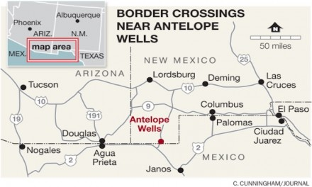 Border Patrol captures almost 300 aliens illegally crossing into US near Antelope Wells