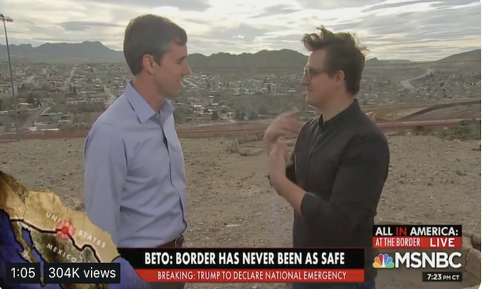 Beto O'Rourke: Tear down existing border walls