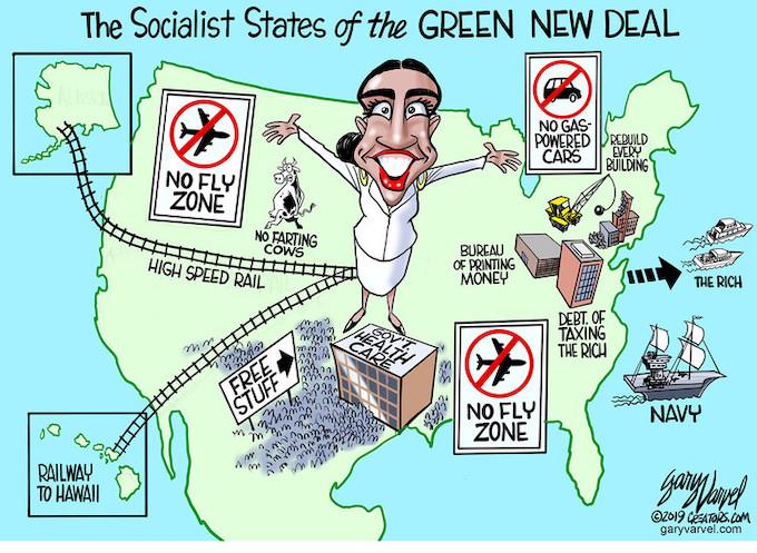 New Green Radically Socialist America