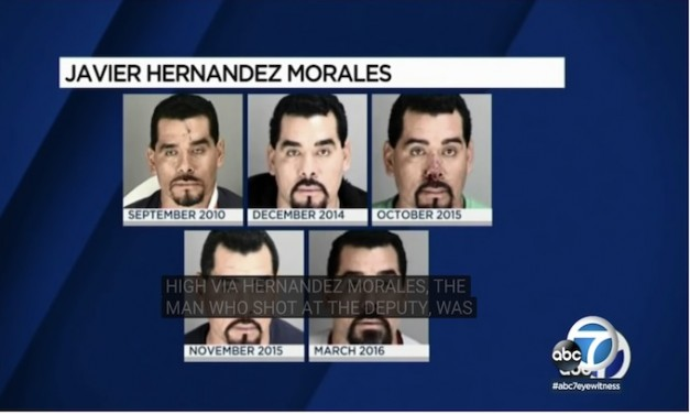 Sanctuary state protected illegal who tried to murder sheriff