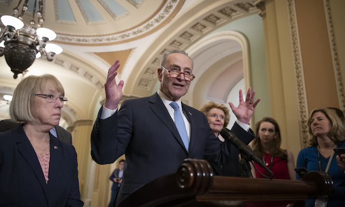 One-eyed Chuck and the exalted cyclops bumbling in the Senate