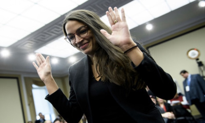 Ocasio-Cortez slammed for phone call with the UK's best known anti-semite