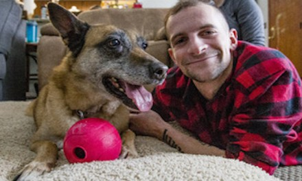 Indiana veteran adopts dog he served with in Afghanistan