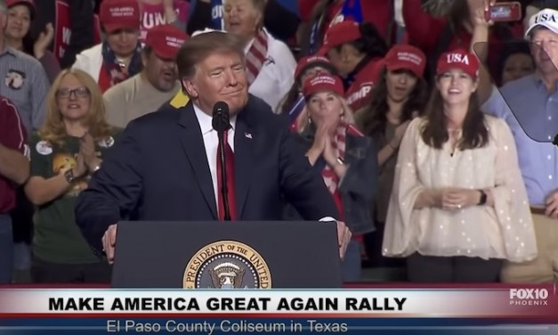 Trump holds El Paso re-election rally to chants of 'Finish the Wall'