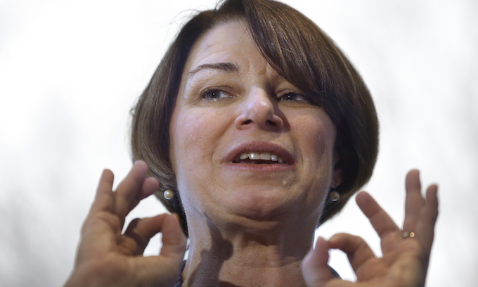 Amy Klobuchar: I've been punching 'way above my weight'