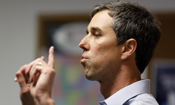 O'Rourke says 'it's really hard' not to view Trump voters as racists