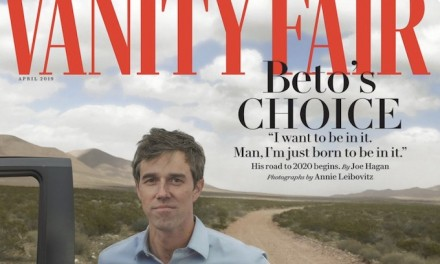 O'Rourke regrets Vanity Fair profile: 'I think it reinforces that perception of privilege'