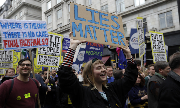 1 million rally in London for 2nd Brexit vote