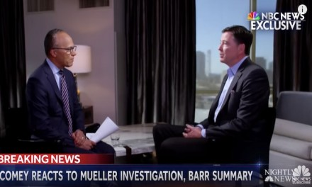 ABC gives Comey platform to claim Mueller probe not a witch hunt, FBI not corrupt