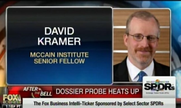John McCain's aide spread Steele dossier around DC during Trump transition