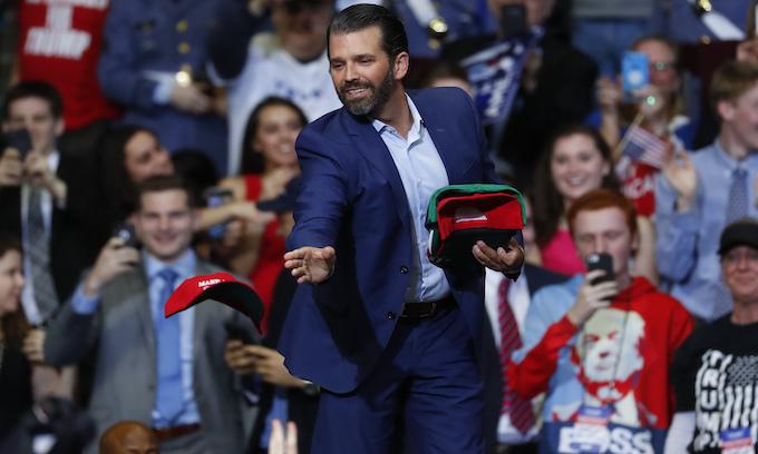 Trump declares 'Russia hoax' dead at Grand Rapids, Michigan rally