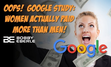 Oops… Google actually paid women more than men