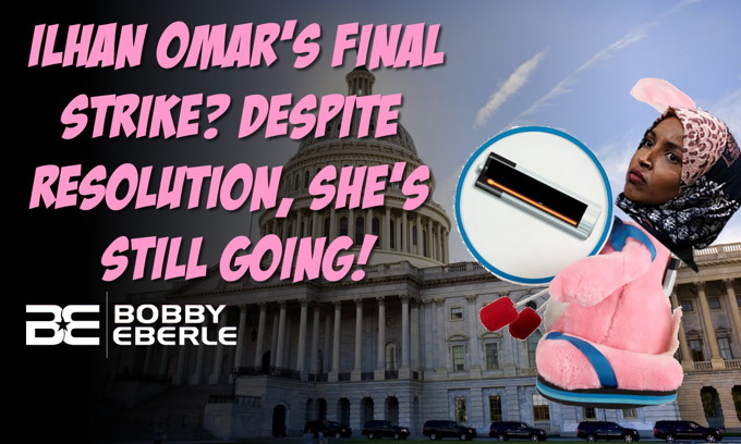 Ilhan Omar's final strike?  Despite resolution, she's still going… blasts Meghan McCain!