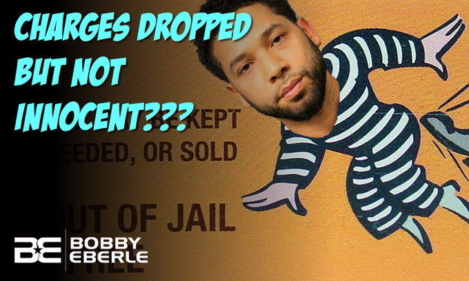 What??? All charges dropped against Smollett, but he's still not innocent?