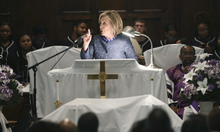 Hillary Clinton rained on parade of Democrats in Selma — again