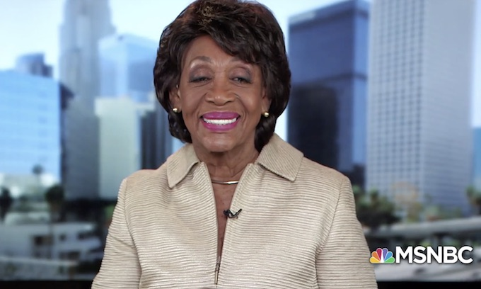 Maxine Waters: We cannot allow them to get away with this