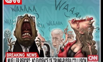Fake News Shrieks in Pain!
