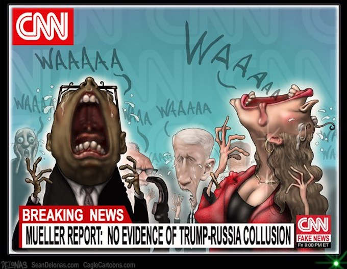 Fake News Shrieks in Pain!